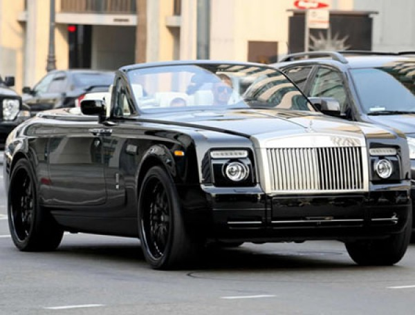 Дэвид Бекхэм – Rolls Royce Phantom Drophead